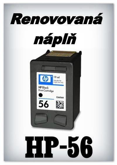 Náplnì do tiskáren HP-56 XL (renovované)