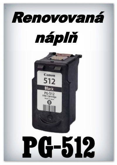 Náplnì do tiskáren Canon PG-512 XL (renovované)