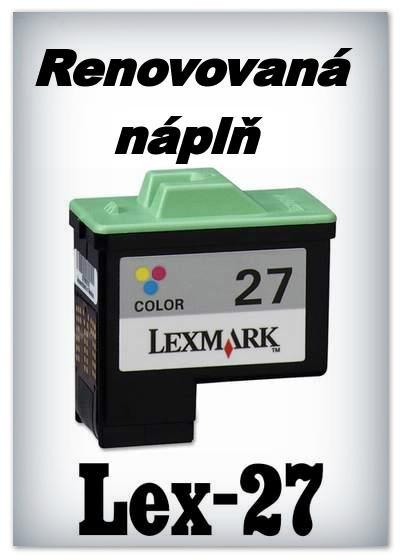 Náplnì do tiskáren Lexmark 27 (renovované)
