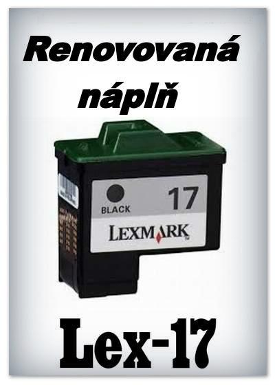 Náplnì do tiskáren Lexmark 17 (renovované)