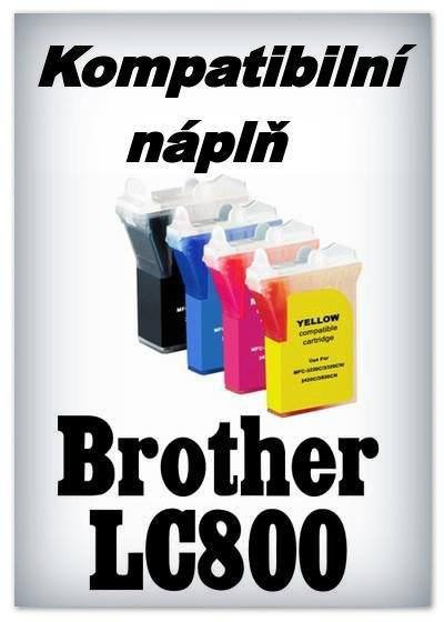 Náplnì do tiskáren Brother LC800 (kompatibilní)