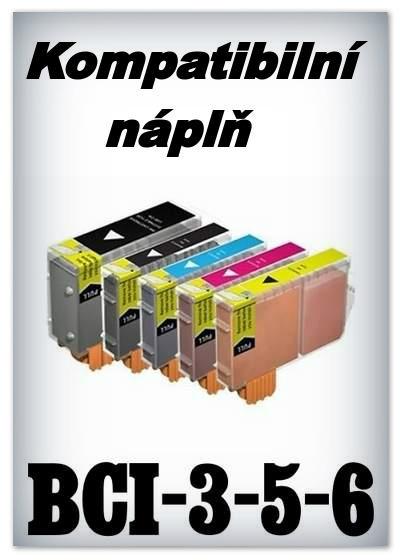Náplnì do tiskáren Canon BCI-3, BCI-5, BCI-6 (kompatibilní)