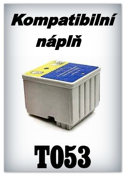 Náplnì do tiskáren Epson T053 (kompatibilní)