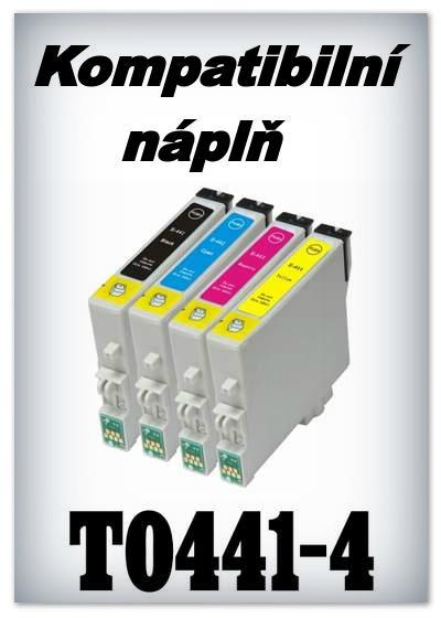 Náplnì do tiskáren Epson T0441, T0442, T0443, T0444 (kompatibilní)