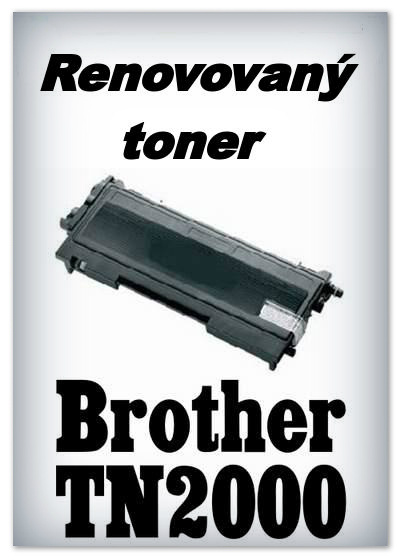 Renovovaný toner Brother TN-2000