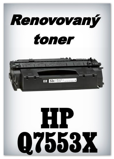 Renovovaný toner HP 53X / Q7553X