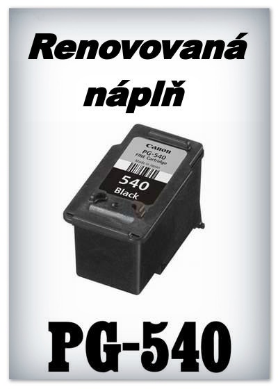 Náplnì do tiskáren Canon PG-540 XL (renovované)