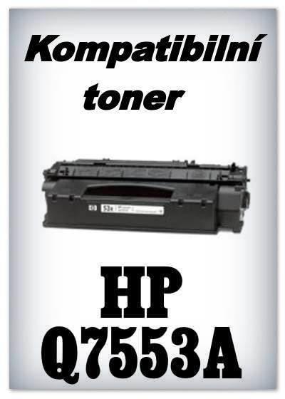 Kompatibilní toner HP 53A / Q7553A