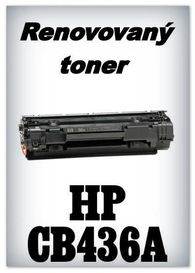 Renovovaný toner HP 36A / CB436A