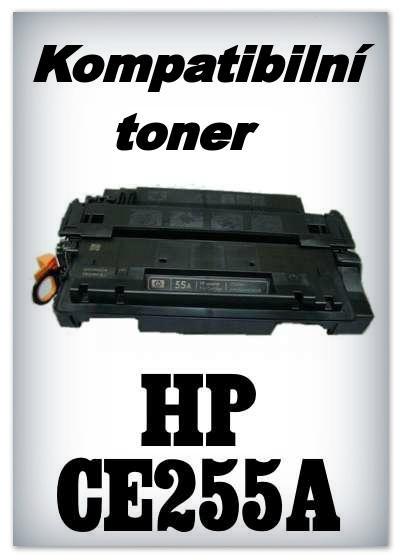 Kompatibilní toner HP CE255A / 55A