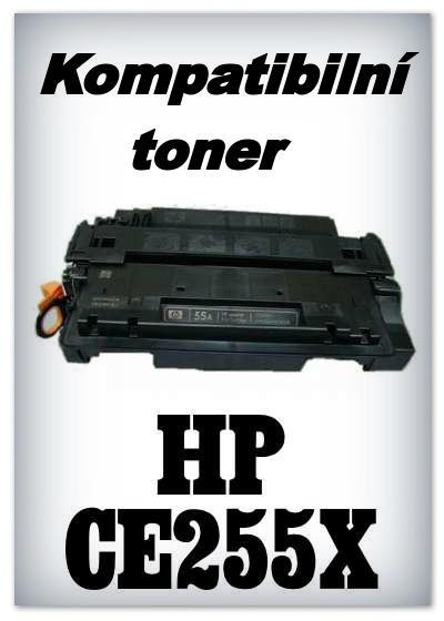 Kompatibilní toner HP CE255X / 55X