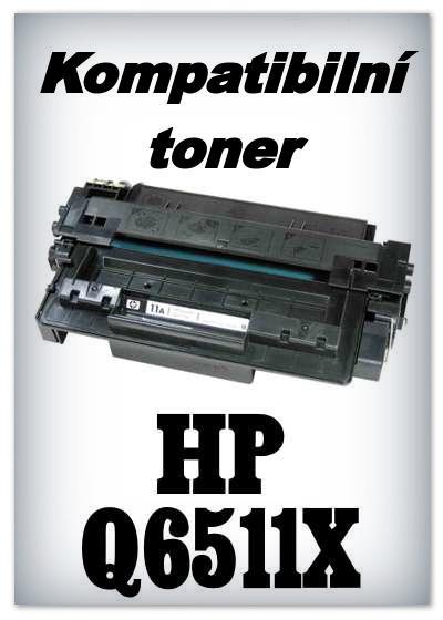 Kompatibilní toner HP Q6511X / 11X