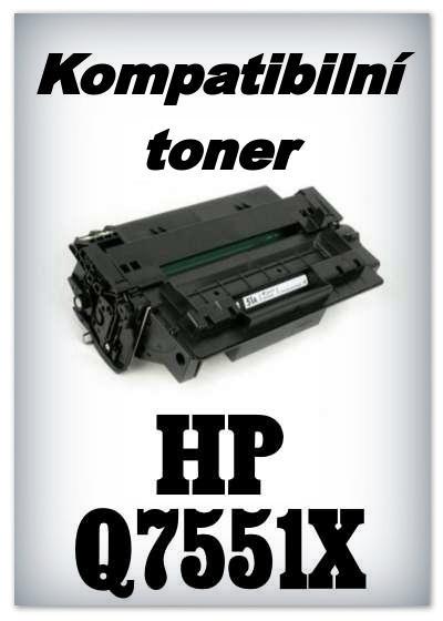 Kompatibilní toner HP Q7551X / 51X