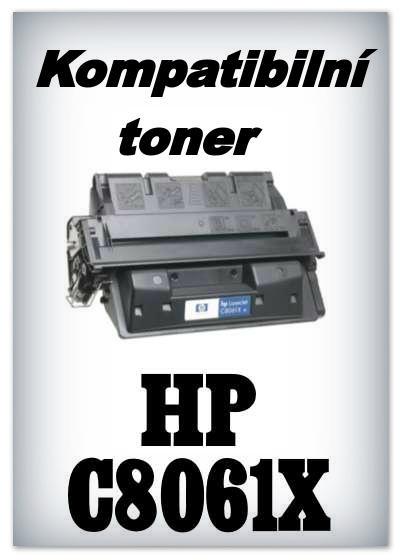 Kompatibilní toner HP C8061X / 61X
