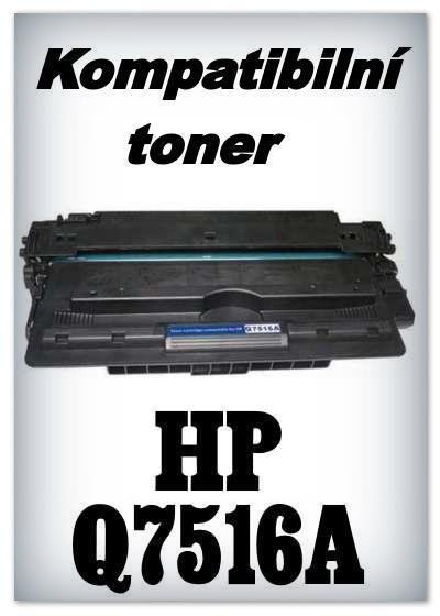 Kompatibilní toner HP Q7516A / 16A