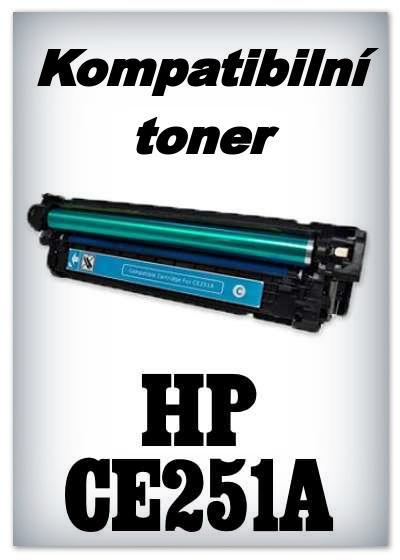 Kompatibilní toner HP 504A / HP CE251A