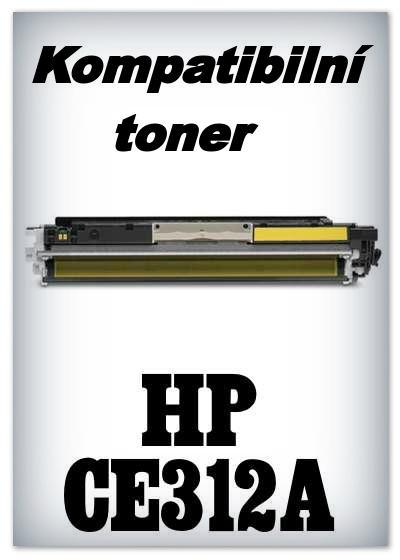 Kompatibilní toner HP 126A / HP CE312A