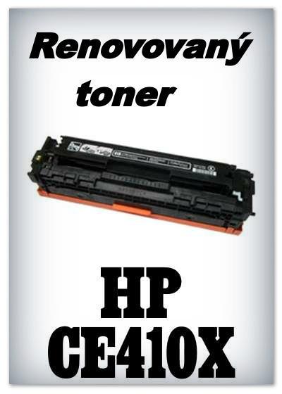 Renovovaný toner HP 305X / HP CE410X