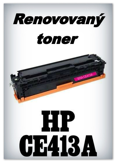 Renovovaný toner HP 305A / HP CE413A