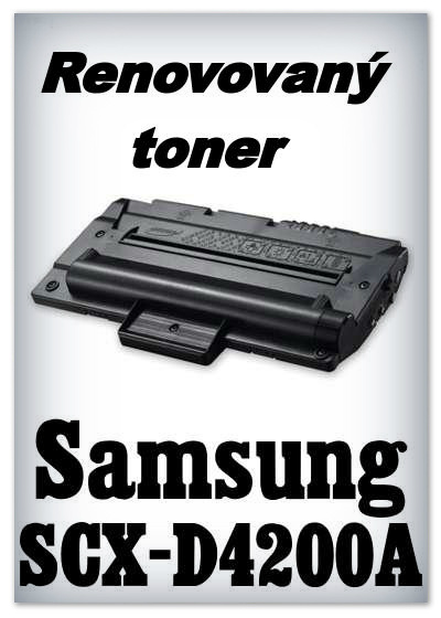 Renovovaný toner Samsung SCX-D4200A