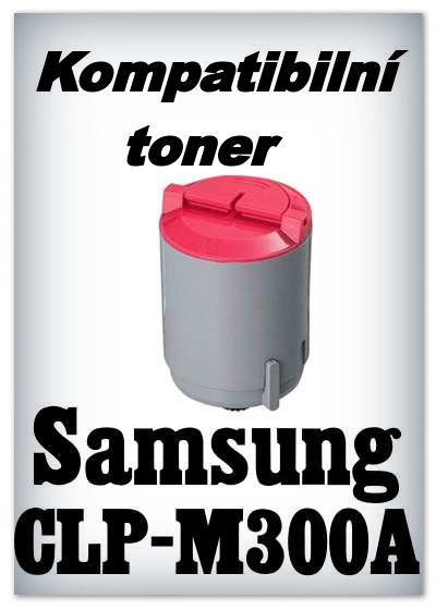 Kompatibilní toner Samsung CLP-M300A
