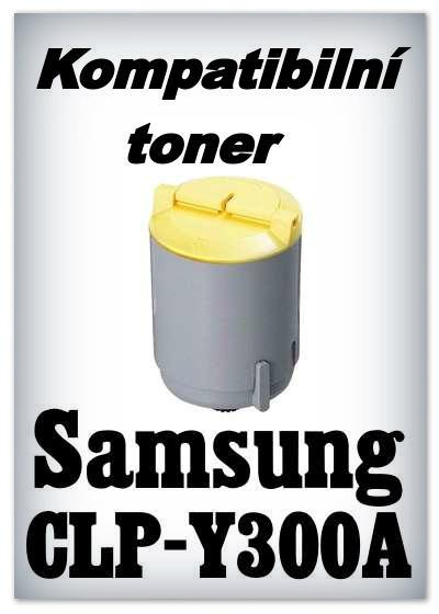 Kompatibilní toner Samsung CLP-Y300A
