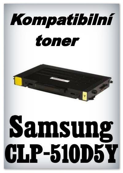Kompatibilní toner Samsung CLP-510D5Y