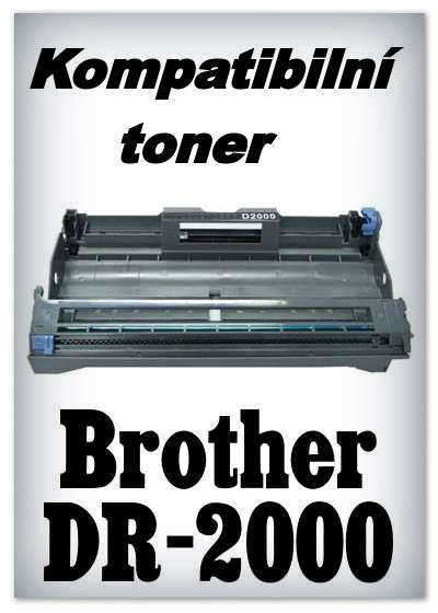Kompatibilní toner Brother DR-2000