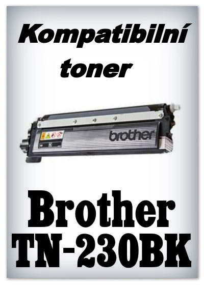 Kompatibilní toner Brother TN-230BK