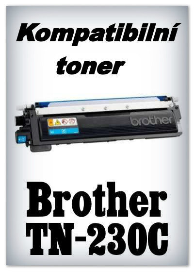 Kompatibilní toner Brother TN-230C