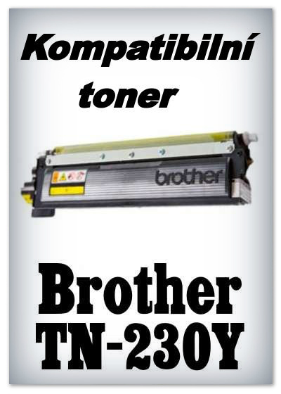Kompatibilní toner Brother TN-230Y