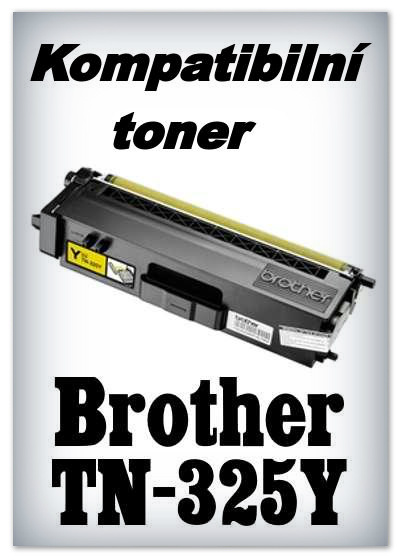 Kompatibilní toner Brother TN-325Y