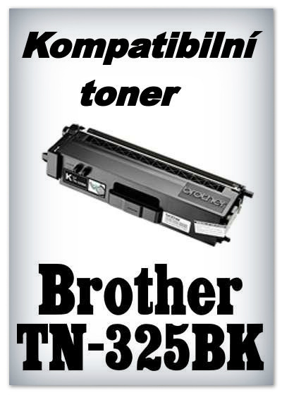 Kompatibilní toner Brother TN-325BK