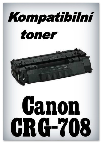Kompatibilní toner Canon CRG-708