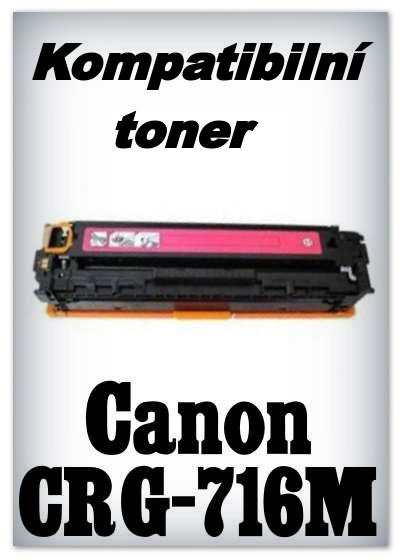 Kompatibilní toner Canon CRG-716M