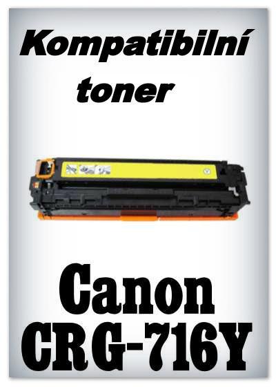Kompatibilní toner Canon CRG-716Y