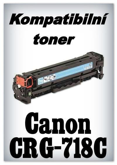 Kompatibilní toner Canon CRG-718C