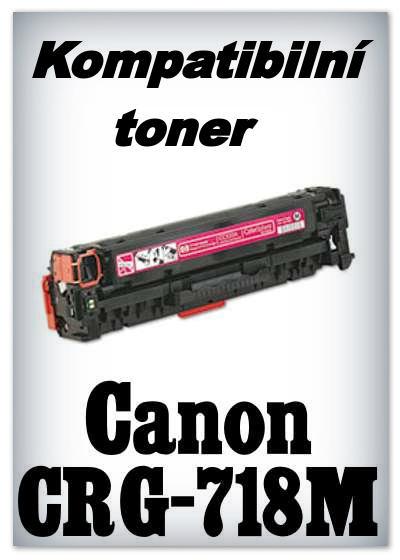 Kompatibilní toner Canon CRG-718M