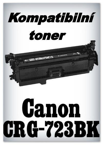 Kompatibilní toner Canon CRG-723BK