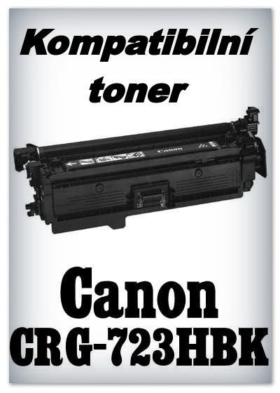 Kompatibilní toner Canon CRG-723HBK