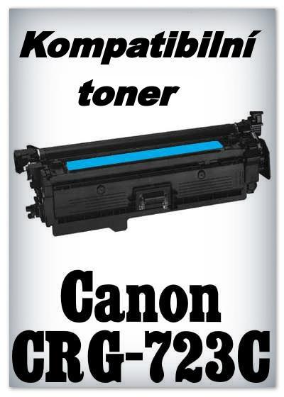 Kompatibilní toner Canon CRG-723C