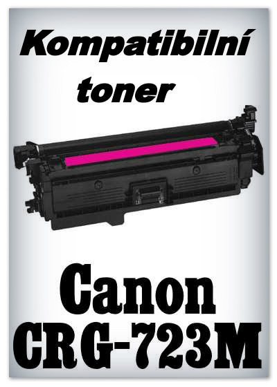 Kompatibilní toner Canon CRG-723M