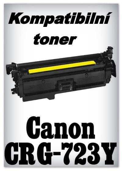 Kompatibilní toner Canon CRG-723Y