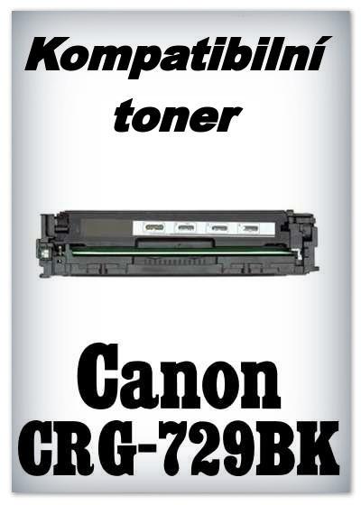 Kompatibilní toner Canon CRG-729BK