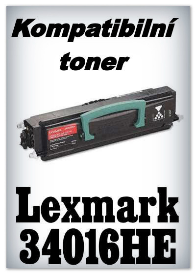 Kompatibilní toner Lexmark 34016HE