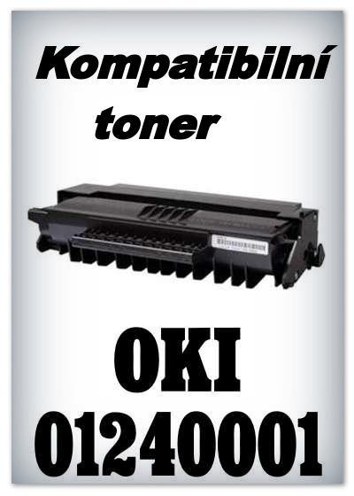 Kompatibilní toner OKI 01240001