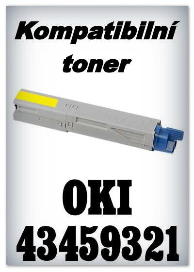 Kompatibilní toner OKI 43459321