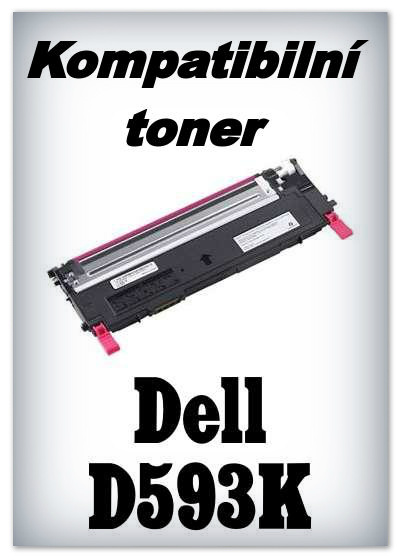 Kompatibilní toner Dell D593K