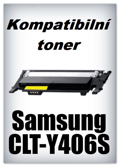 Kompatibilní toner Samsung CLT-Y406S