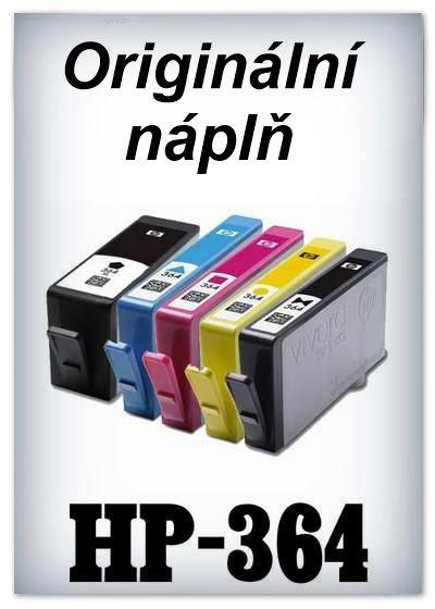 Náplnì do tiskáren HP-364 (originální)